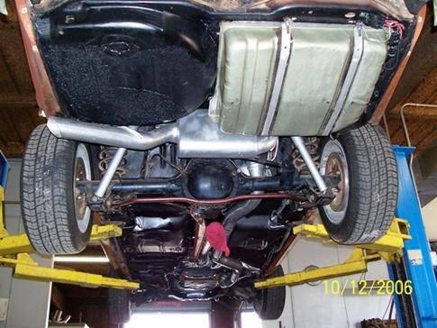 building the sfi turbo v 6 vega 7 5 inch rear end and v 6 monza torque arm